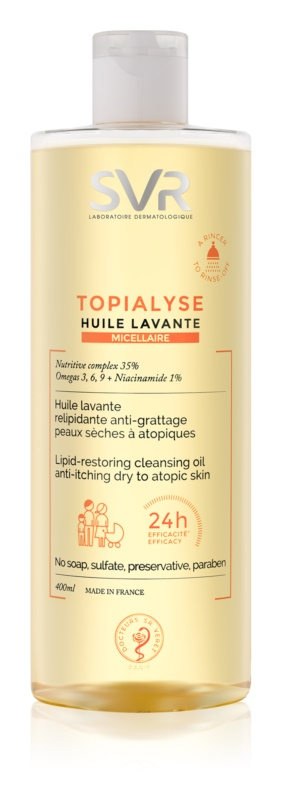 SVR Topialyse Micellar Oil Cleanser for Dry and Atopic Skin