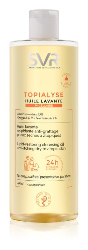 SVR Topialyse reinigendes Mizellenöl für trockene bis atopische Haut