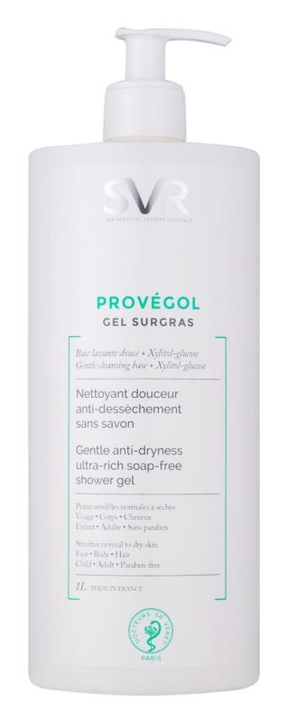 SVR Provégol м'який очищуючий гель для нормальної та сухої шкіри