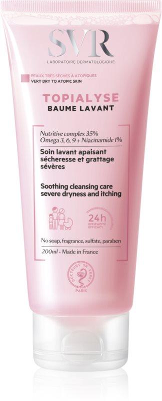 SVR Topialyse balzam za umivanje za suho in razdraženo kožo