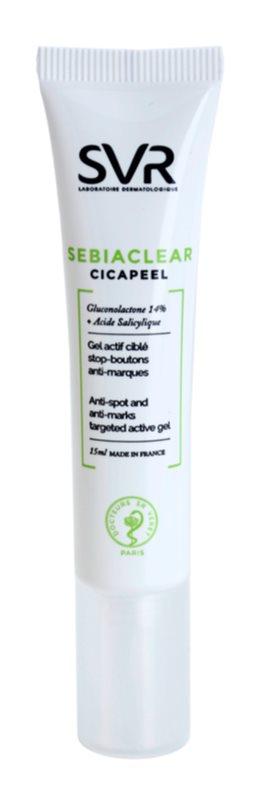 SVR Sebiaclear Cicapeel Lokalpflege für Unvollkommenheiten wegen Akne Haut