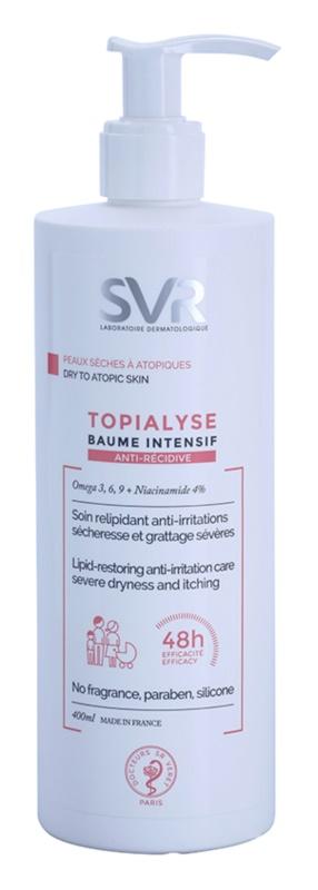 SVR Topialyse ліпідовідновлюючий бальзам для подразненої та схильної до свербіння шкіри
