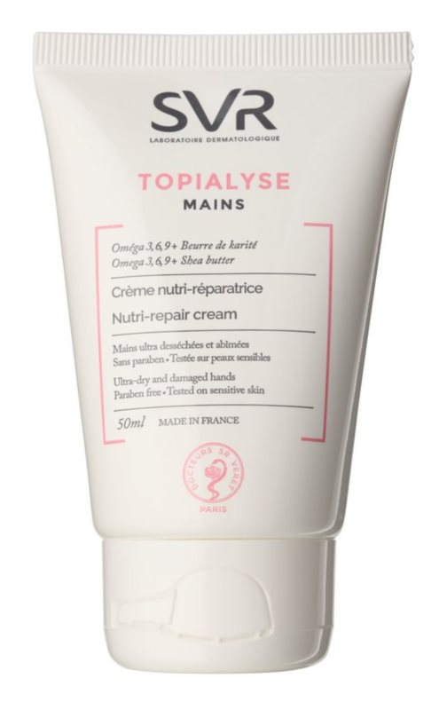 SVR Topialyse Restorative Hand Cream Regenerative Effect