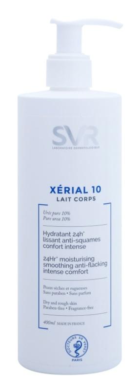 SVR Xérial 10 зволожуюче молочко для тіла для сухої шкіри