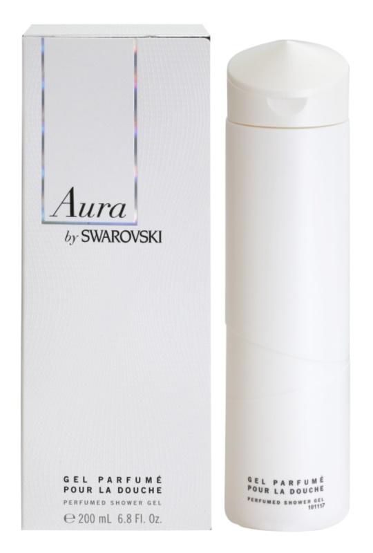 Swarovski Aura sprchový gél pre ženy 200 ml