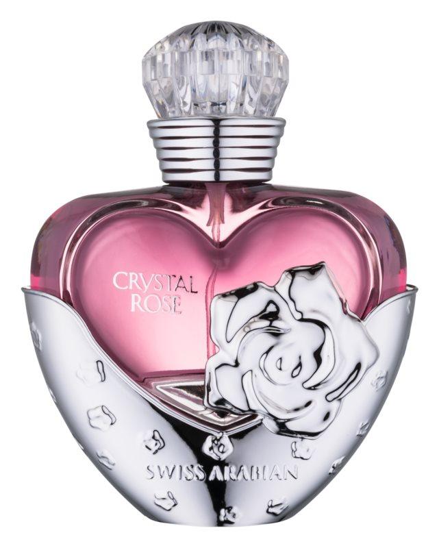 Swiss Arabian Crystal Rose eau de parfum pentru femei 50 ml