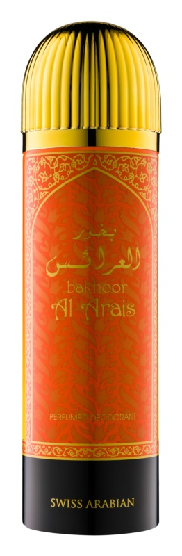 Swiss Arabian Bakhoor Al Arais дезодорант унисекс 200 мл.