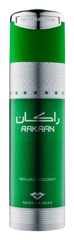 Swiss Arabian Rakaan дезодорант-спрей для чоловіків 200 мл