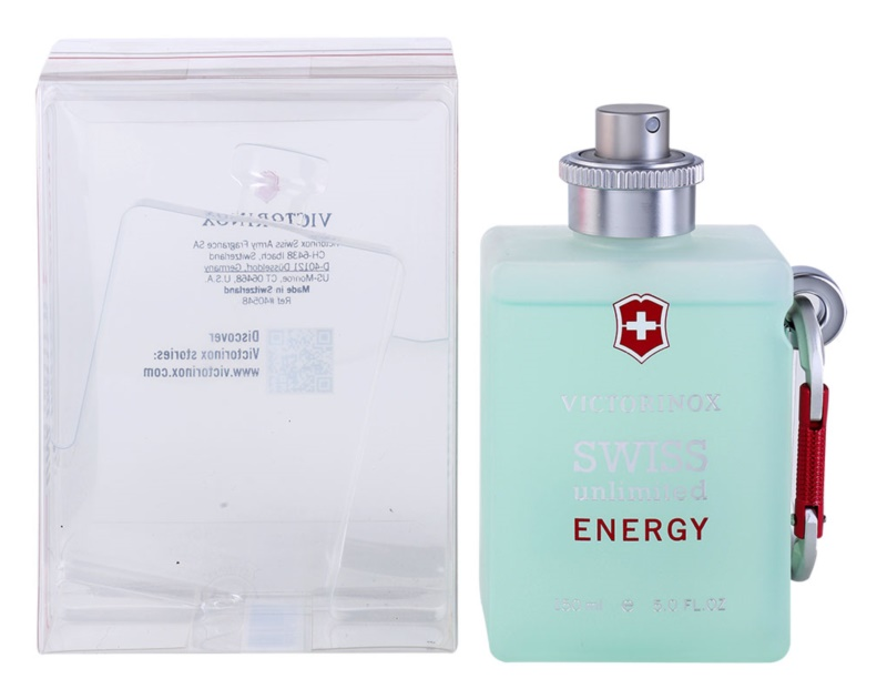 Swiss Army Swiss Unlimited Energy Eau de Cologne für Herren 150 ml