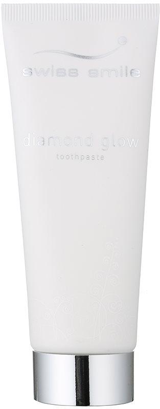 Swiss Smile Diamond Glow pasta de dientes blanqueadora con micropartículas de diamantes