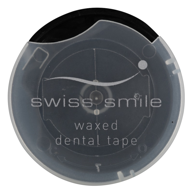 Swiss Smile In Between Waxed Ribbon Floss