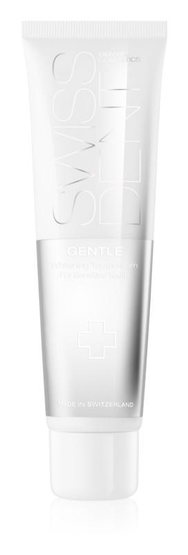 Swissdent Gentle pasta de dientes suave con efecto blanqueador para dientes sensibles