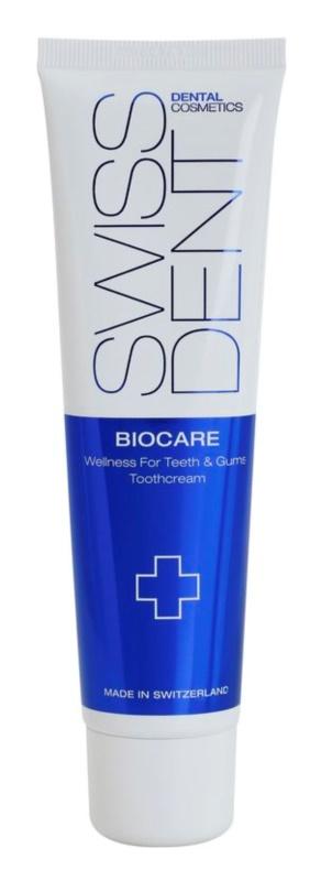 Swissdent Biocare regeneráló és fogvilágosító fogkrém