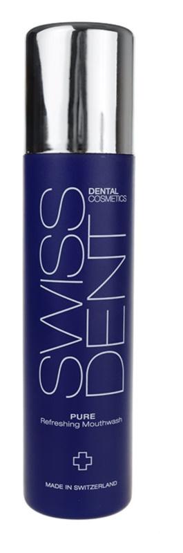 Swissdent Pure bain de bouche pour une haleine fraîche