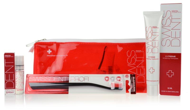 Swissdent Emergency Kit RED Cosmetica Set  I.