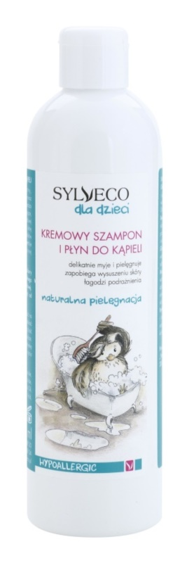 Sylveco Baby Care Shampoo And Foam Into The Bath For Kids