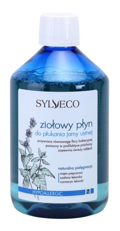Sylveco Dental Care вода за уста за подсилване и възстановяване на зъбния емайл за чувствителни венци