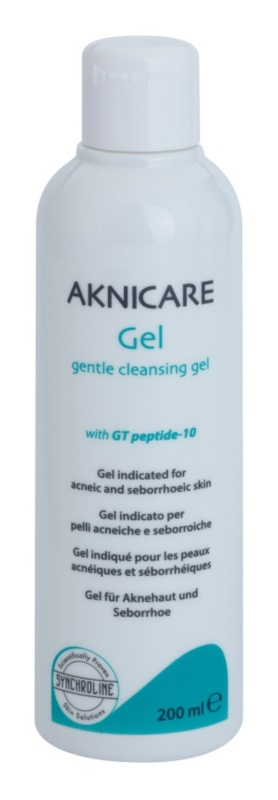 Synchroline Aknicare  gel limpiador para pieles acnéicas y seborreicas