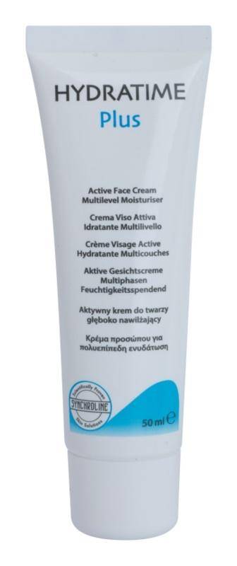 Synchroline Hydratime Plus Feuchtigkeitsspendende Tagescreme für trockene Haut