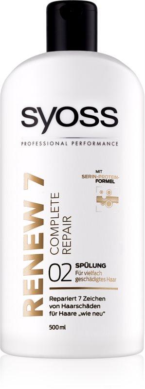 Syoss Renew 7 Complete Repair balsam pentru par deteriorat