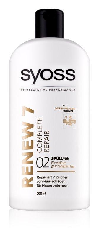 Syoss Renew 7 Complete Repair balzam za poškodovane lase