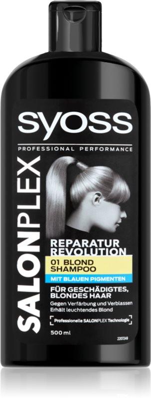 Syoss Salonplex šampon za posvetljene in blond lase