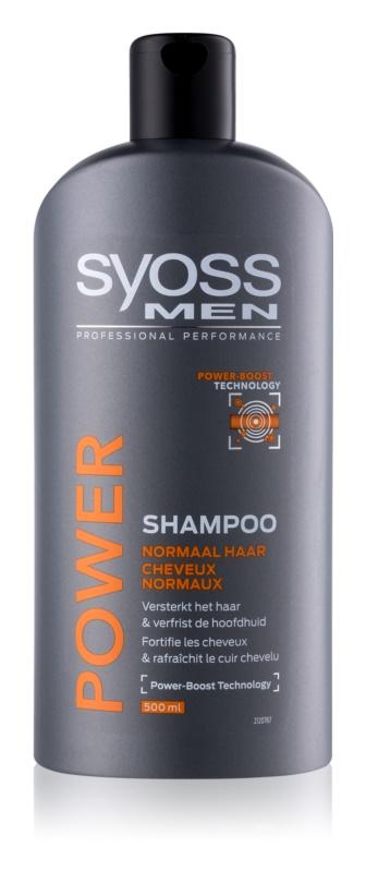 Syoss Men Power & Strength sampon a haj megerősítésére