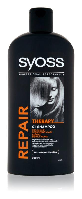 Syoss Repair Therapy intensief regenererende shampoo voor Beschadigd Haar