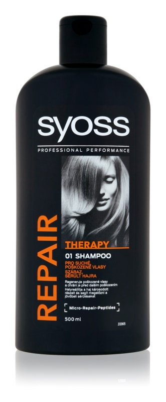 Syoss Repair Therapy intenzívne regeneračný šampón pre poškodené vlasy