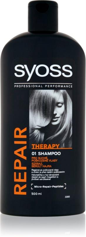 Syoss Repair Therapy intenzivno regeneracijski šampon za poškodovane lase