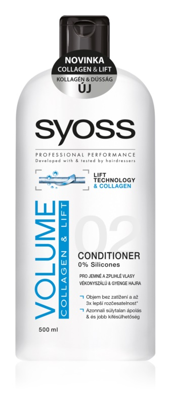 Syoss Volume Collagen & Lift Conditioner for Fine and Limp Hair