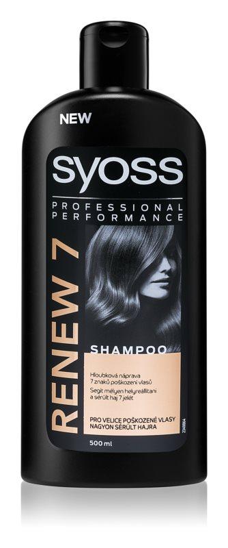 Syoss Renew 7 Complete Repair šampón pre poškodené vlasy