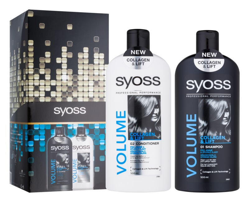 Syoss Volume Collagen & Lift kozmetická sada I.
