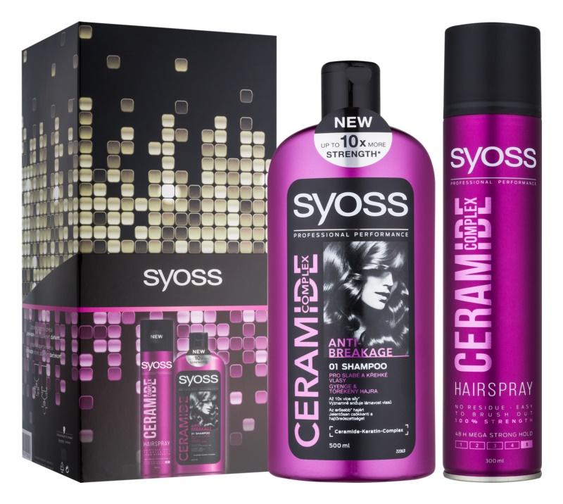Syoss Ceramide Complex Anti-Breakage kosmetická sada