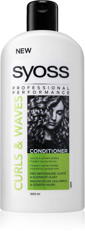 Syoss Curl Me kondicionér pre husté, hrubé alebo kučeravé vlasy