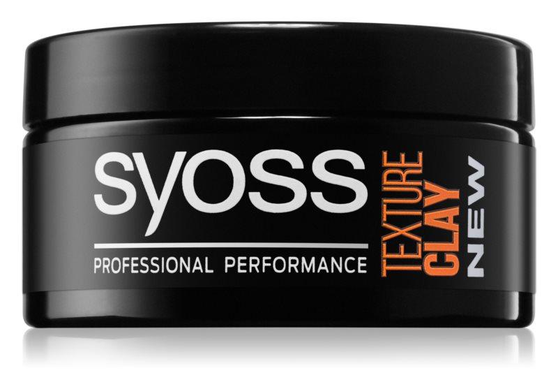 Syoss Texture stylingová hlina s extra silnou fixáciou