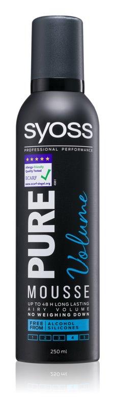 Syoss Pure Volume penasti utrjevalec za lase za dolgotrajajoč volumen