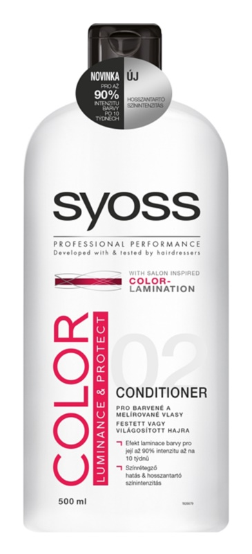 Syoss Color Luminance & Protect Conditioner For Colored Hair