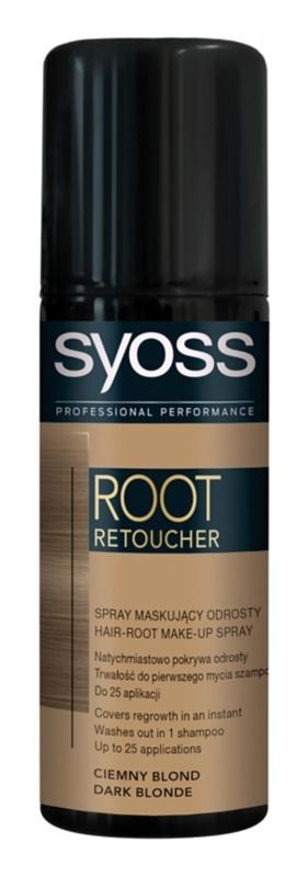 Syoss Root Retoucher coloração para cobrir as raízes em spray