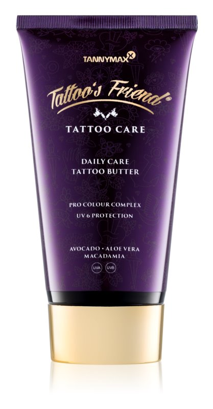 Tannymaxx Tattoo Care Pflegecreme für tättowierte Stellen zur täglichen Anwendung
