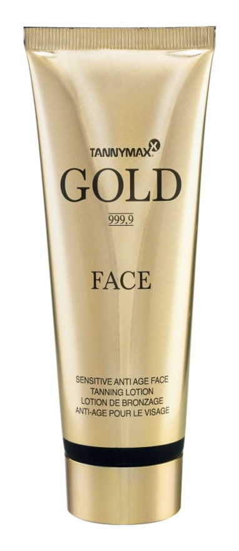 Tannymaxx Gold 999,9 Gezichtscrème voor Snellere Bruining