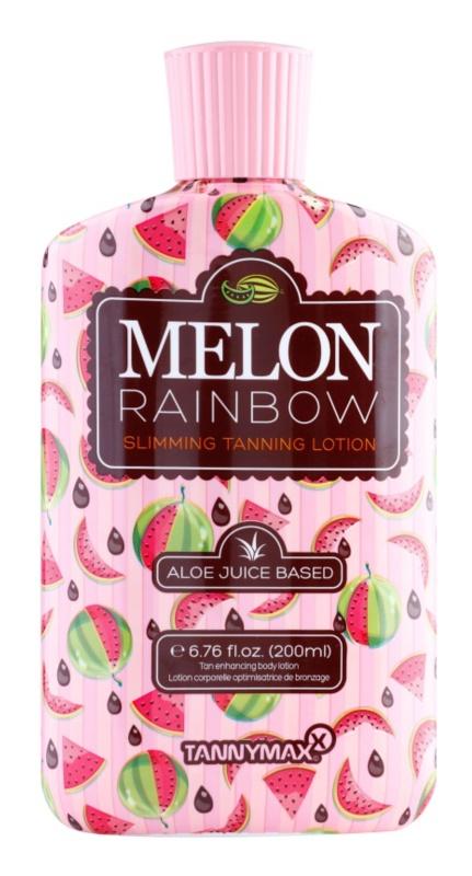 Tannymaxx 6th Sense Melon Rainbow crème solaire amincissante solarium pour un bronzage foncé