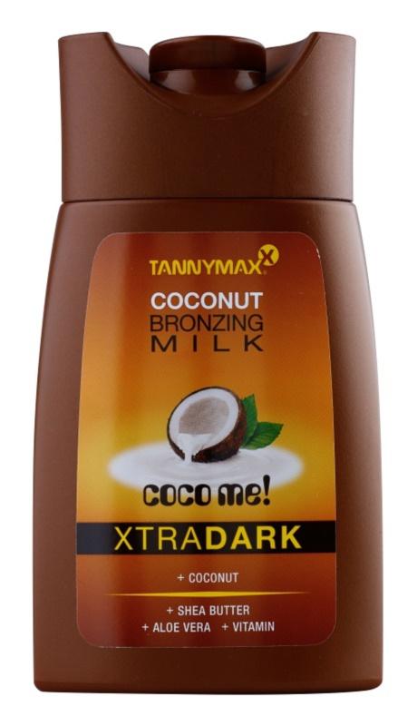 Tannymaxx Coco Me! XtraDark opaľovacie mlieko do solária s bronzerom