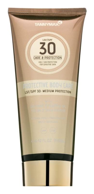 Tannymaxx Protective Body Care SPF wasserfeste Sonnenmilch SPF 30