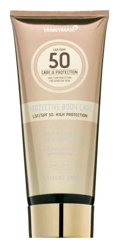 Tannymaxx Protective Body Care SPF водостійке молочко для засмаги SPF 50