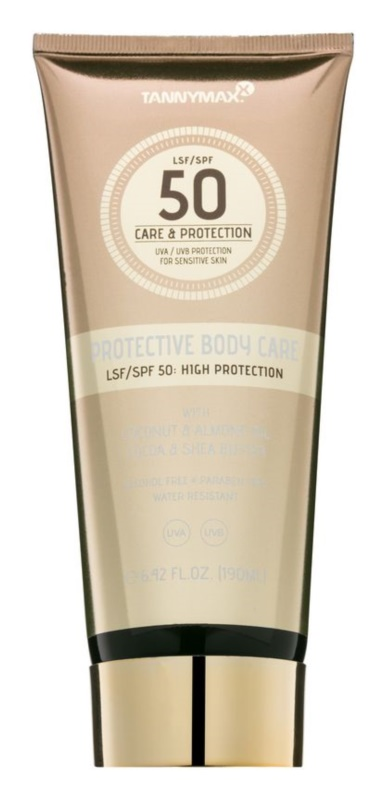 Tannymaxx Protective Body Care SPF Waterproef Zonnebrandmelk  SPF 50