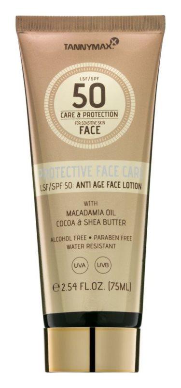 Tannymaxx Protective Body Care SPF voděodolné opalovací mléko na obličej SPF 50