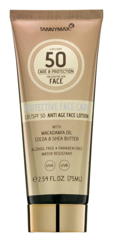Tannymaxx Protective Body Care SPF vodoodporni losjon za sončenje za obraz SPF 50