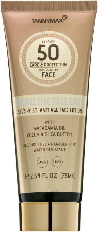 Tannymaxx Protective Body Care SPF waterproof zonnebrandcrème voor het gezicht SPF50