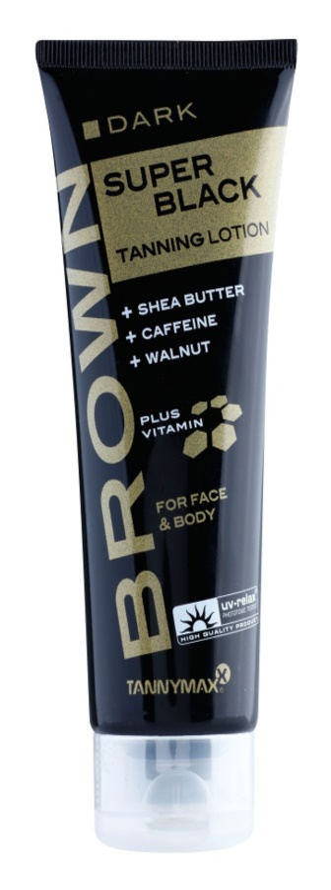 Tannymaxx Brown Super Black crema bronceadora para solárium